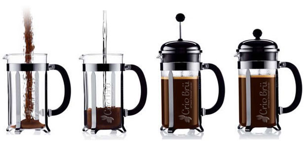 Coffee Makers French Press Instructions : How to Brew Crio Bru - Instructions for French Press and Coffee Maker. Brew Crio Bru for a ...